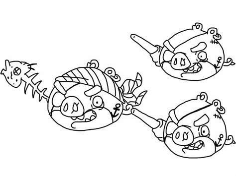 coloring pages angry birds epic angry birds epic coloring page pirate pigs omalov 225 nky