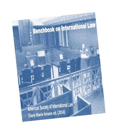 judges bench book new tool for us judges litigants asil benchbook on