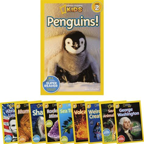 national geographic kids readers 1426318022 national geographic kids readers set 2 10 book set