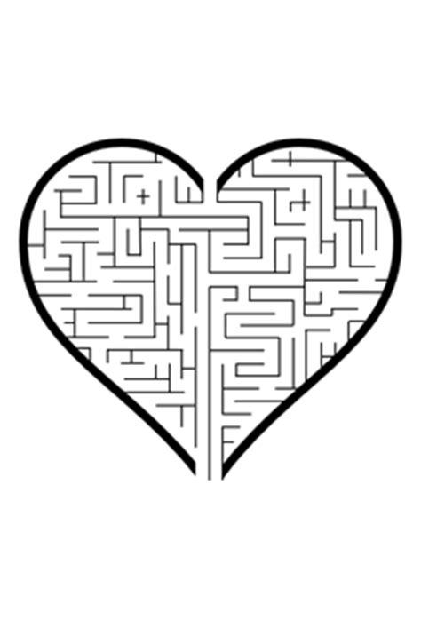 printable heart maze heart maze valentines puzzle printable valentine