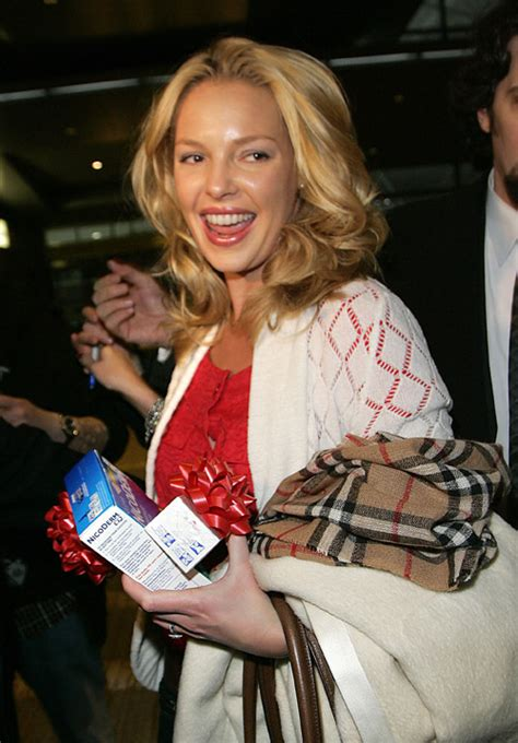 Nicoderm Better Give Katherine Heigl A Call by I Guess Katherine Heigl Is Trying To Quit Today