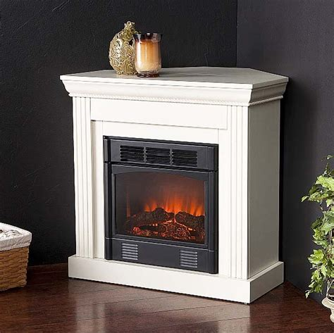 corner electric fireplace and heater for small rooms pic 01