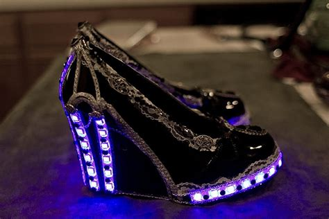 Lights For Shoes by Rad Steunk Remote Controlled Led Light Up Club Shoes