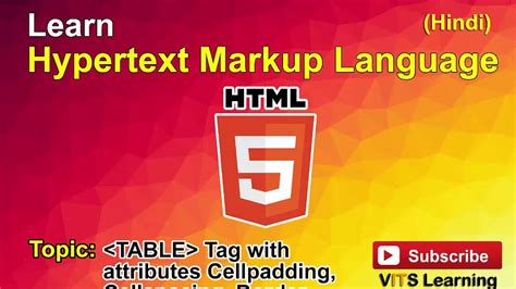 table attributes in html 31 html table tag with attributes cellpadding cellspacing