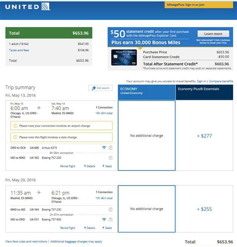united airlines booking 638 656 chicago to spain in spring r t fly com