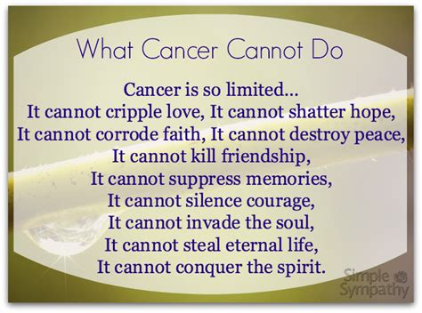 comfort poetry comforting poems for cancer patients