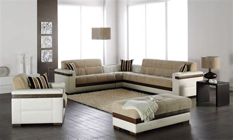 mustard fabric white leatherette modern sectional sofa bed moon platin mustard sectional sofa bed in fabric by sunset