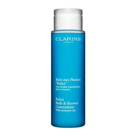 clarins relax bath and shower concentrate relax bath and shower concentrate relax smooth and cleanse clarins