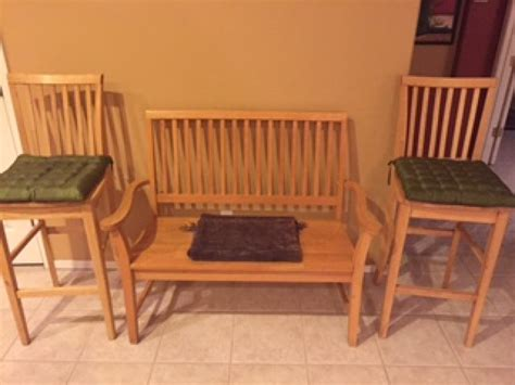 bench seat for kitchen table kitchen table chairs bench seat and barstools tempe