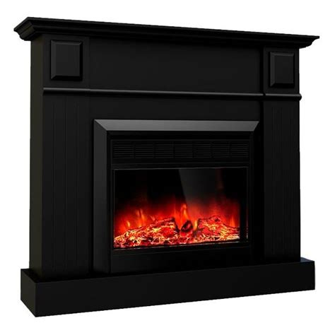 Protect Tv From Fireplace Heat by Grace Mantel Electric Fireplace Heater Black 1600w Buy