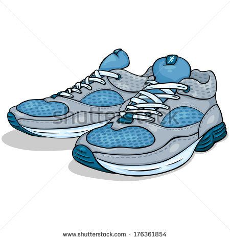 walking shoes clip 69
