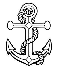 anchor coloring page anchor coloring pages