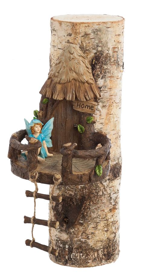 features material polyresin theme fairies  gnomes