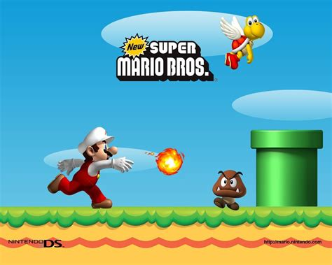 mario bros background new mario bros wallpaper and background image