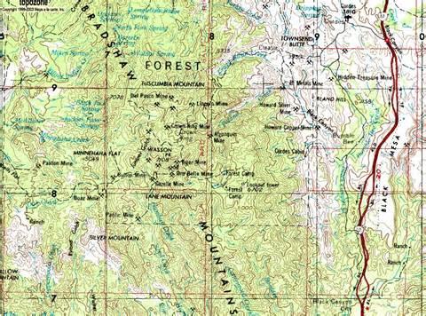 bradshaw mountains arizona gold nugget prospecting