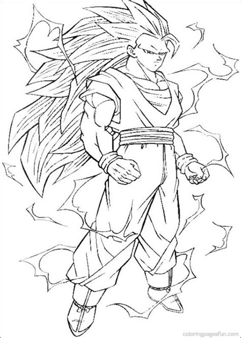 printable coloring pages dragon ball z dragon ball z coloring pages bestofcoloring com