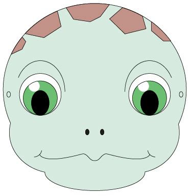 turtle mask template print and colour in this adorable sea turtle mask with the