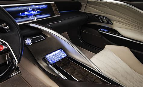 lexus lf lc interior car and driver