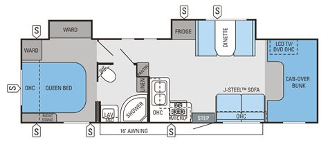Class C Motorhome Floor Plans by Motorhome Class C Floor Plans With Innovative Minimalist