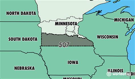 us area codes minnesota where is area code 507 map of area code 507 rochester