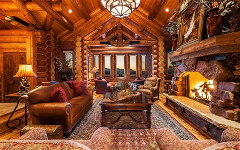 million log mansion   acres  kamas ut