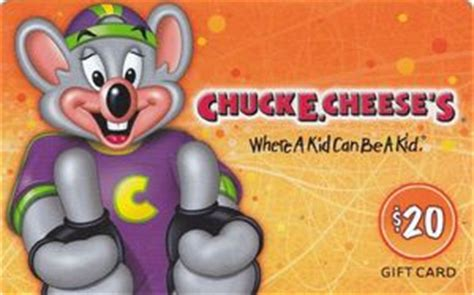 Chuck E Cheese Gift Card Balance - gift card chuck e cheese s chuck e cheese s united states of america chuck e