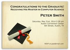 Ross Mba 2 Invitation by Free Graduation Invitations Announcements Diy