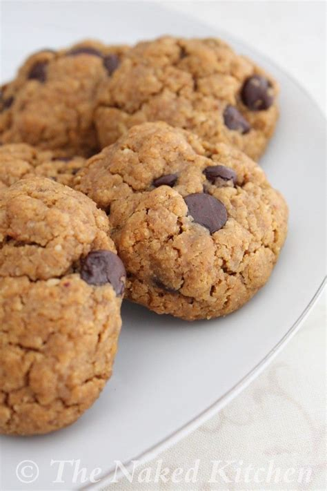 Almond Chocochip Cookies 1 almond butter chocolate chip cookies recipe dishmaps
