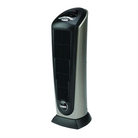 Small Heater With Remote 23 In 1500 Watt Electric Portable Ceramic Tower Heater