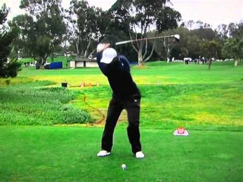 tiger woods perfect swing tiger woods perfect golf swing real speed youtube