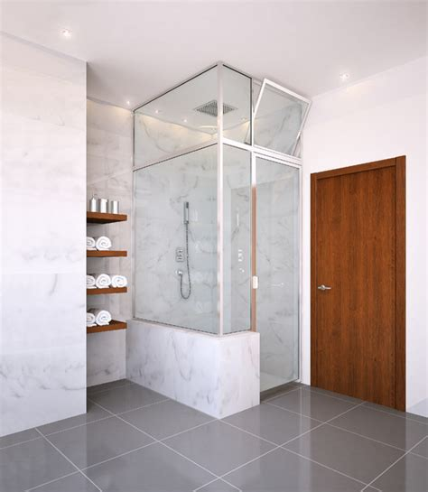 Glass Crafters Shower Doors Glasscrafters Regal Series Framed Shower Enclosure Contemporary Bathroom New York By