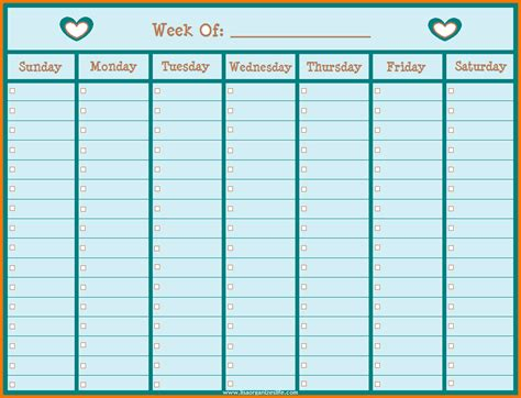 weekly hours spreadsheet beautiful hour tracker calculator papel