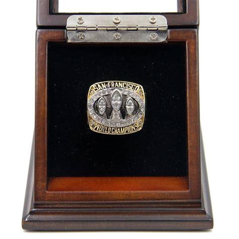 Ring Stand Football Club 3 nfl 1988 bowl xxiii san francisco 49ers chionship replica ring
