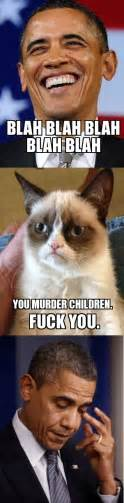 Grumpy Cat Meme Generator - barack obama grumpy cat weknowmemes generator