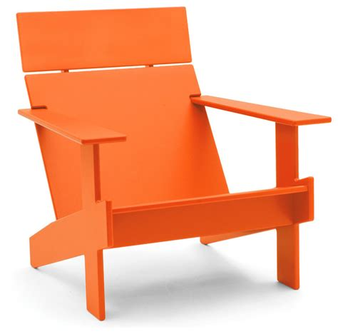 Orange Lawn Chairs by Lollygagger Lounge Chair Sunset Orange Contemporary
