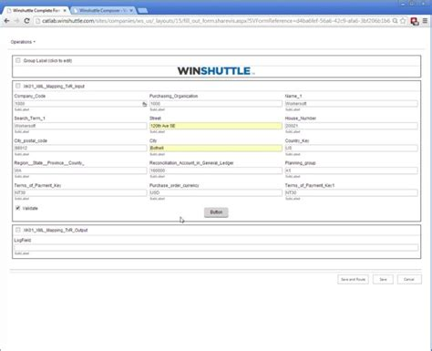 design form one composer xk01 vendor create form 1 winshuttle software