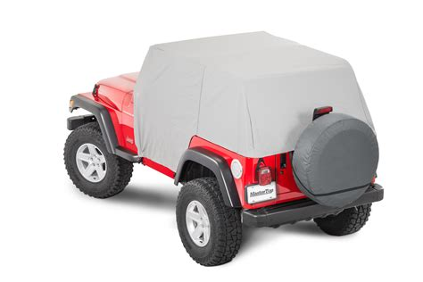 jeep tj cover mastertop 174 11110009 cab cover for 92 06 jeep wrangler yj