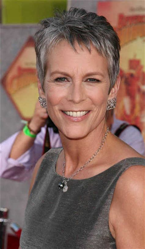 pictures of current jamie lee curtis haircuts haircut styles post list long and short emo hairstyles for