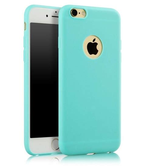 apple iphone 6s cover by egotude green plain back covers at low prices snapdeal india