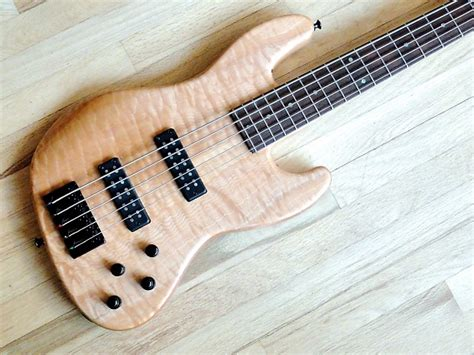 Nordstrand P Bass Guitar 5 Strings Original Oem joe riggio custom guitars hybrid 5 custom five string bass reverb