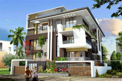 home exterior design 3d 3d modern exterior house designs design a house
