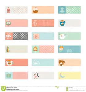 sle label template vector cards and stickers stock vector