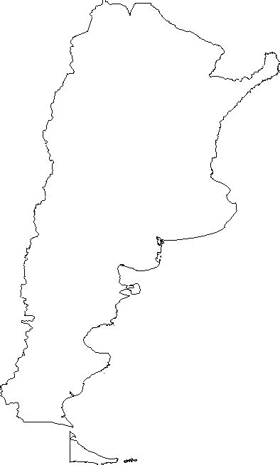 geography blog argentina outline maps