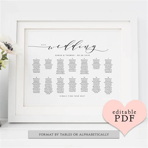 Table Name Cards Template Pdf by Table Place Cards Printable Pdf Template Folded