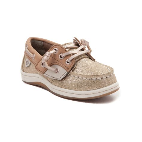 sperry toddler shoes toddler sperry top sider songfish boat shoe gold 99583141