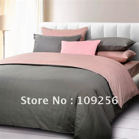 pink and grey bedding sets elegant luxury 3 sizes for select pink grey bedding a