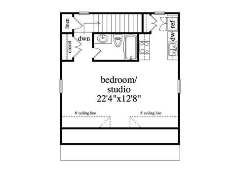 Garage Studio Apartment Floor Plans | garage apartment plans 2 car garage studio apartment
