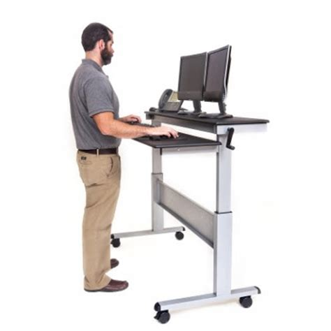 Affordable Sit Stand Desk Muddy Colors Affordable Sit Stand Desks
