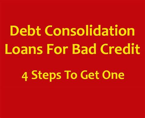 debt consolidation loans for with bad kredit debt consolidation loans for bad credit get out of your debt