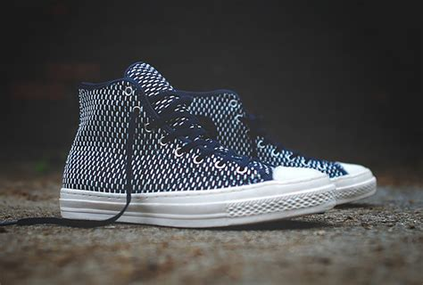 All Converse Ct2 Premium All White Hi Converse Ct All Hi Premium Navy White Sneakers